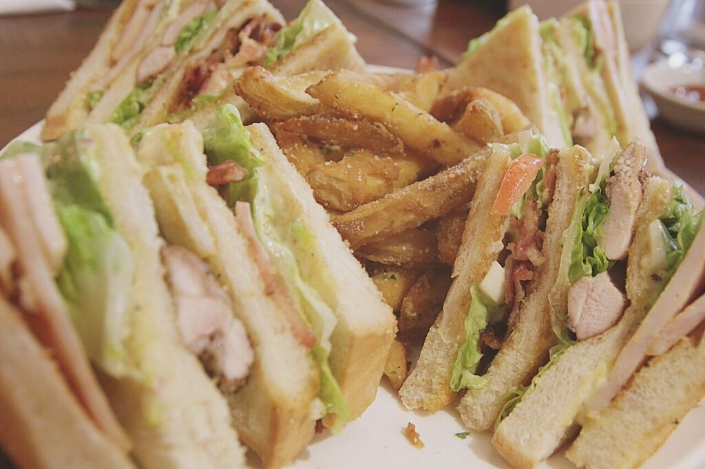 Cafe Creole Club Sandwich