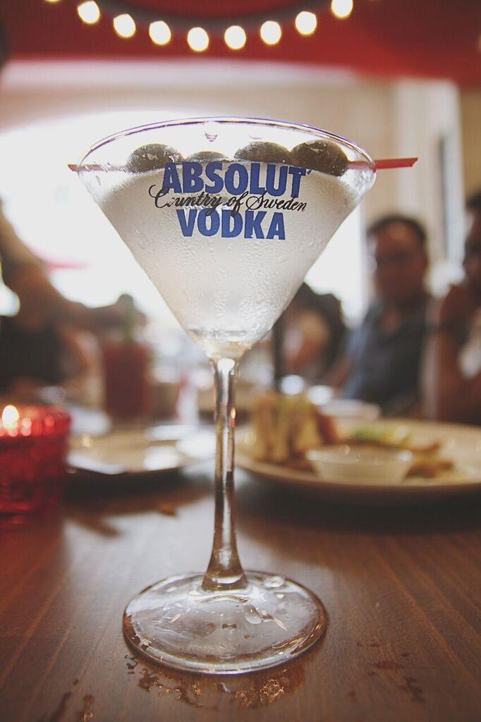 Cafe Creole Martini