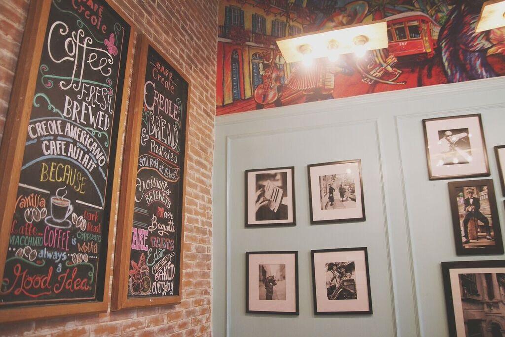 Cafe Creole Wall
