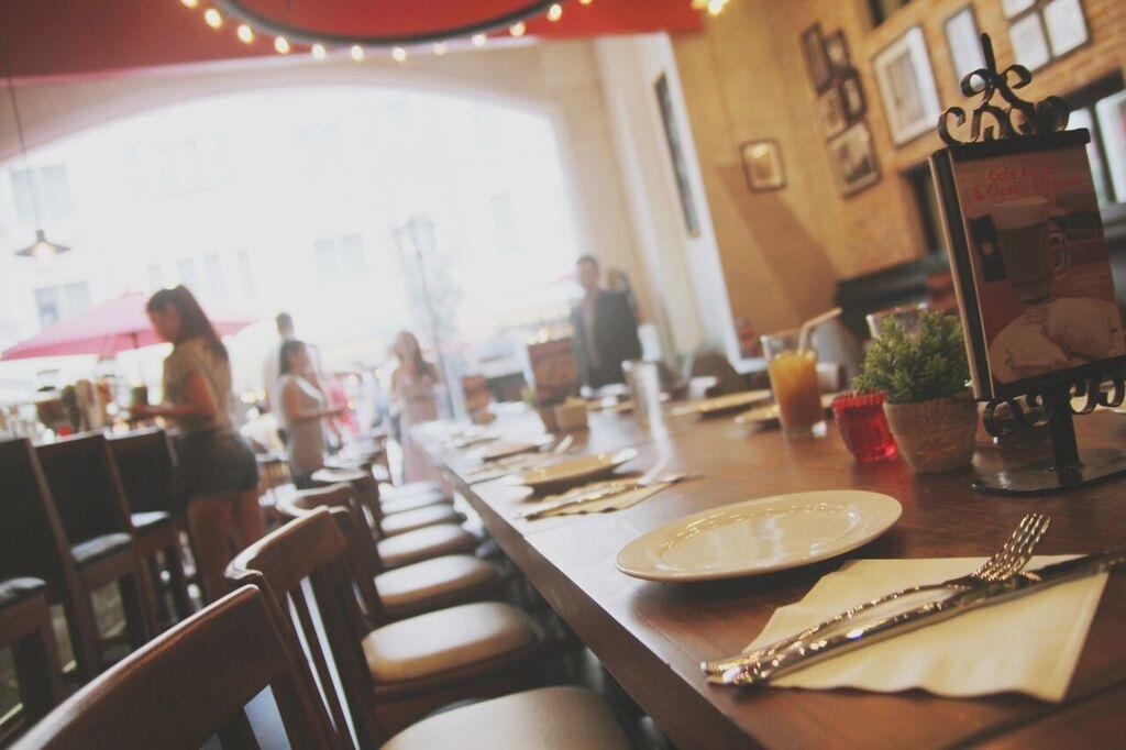 Inside Cafe Creole
